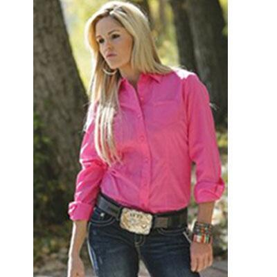 Cruel Girl Button Down Ladies Western Shirt