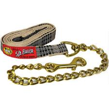 Baker Plaid Lead with Chain