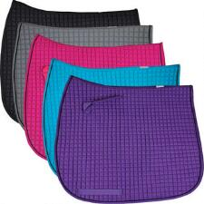 Cotton Quilted Extra Long Dressage Pad - TB