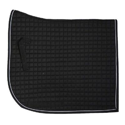 Equu-Felt Quilted Olympic Flag Tail Dressage Pad