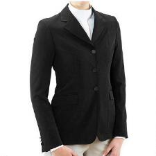 RJ Classics Nora Ladies Show Coat - Black - TB