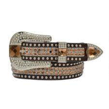 Angel Ranch Gator Topaz Crystal Ladies Belt - TB
