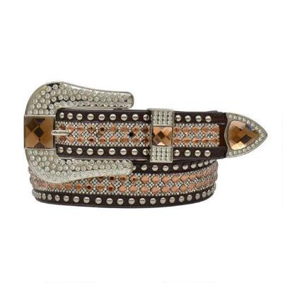Angel Ranch Gator Topaz Crystal Ladies Belt
