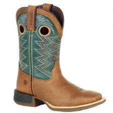 Durango Lil Rebel Pro Little Kids Teal Western Boots - TB