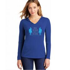 Social Distancing is More Fun on a Horse Ladies Hoodie - TB