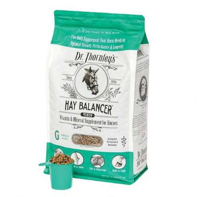 Dr Thornleys Hay Balancer G Horses on Grass Hay 20 lbs