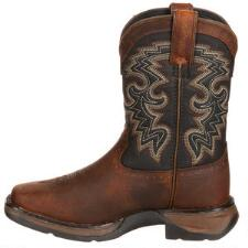 Durango Lil Rebel Square Toe Kid Boys Western Boot - TB