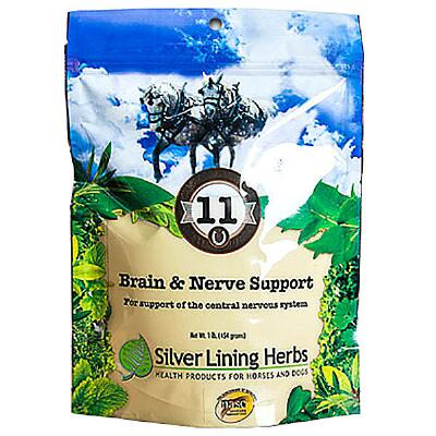 Silver Lining Herbs 11 Brain and Nerve Support 1 lb