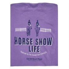 Equestrian Prep Horse Show Life Short Sleeve Adult Tee - TB
