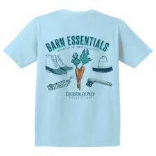 Equestrian Prep Barn Essentials Short Sleeve Adult Tee - TB