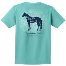 Equestrian Prep Just Really Like Horses Youth Tee - TB