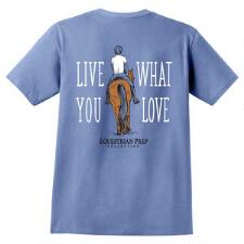 Equestrian Prep Live What You Love Short Sleeve Youth Tee - TB