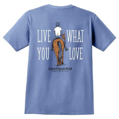 Equestrian Prep Live What You Love Short Sleeve Youth Tee