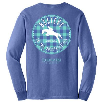 Stirrups EP Believe Long Sleeve Ladies Tee