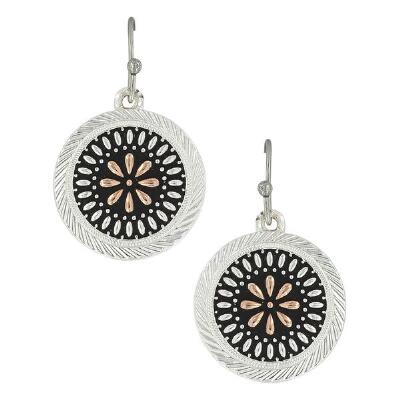 Montana Silversmiths Prairie Meadowbrite Drop Earrings