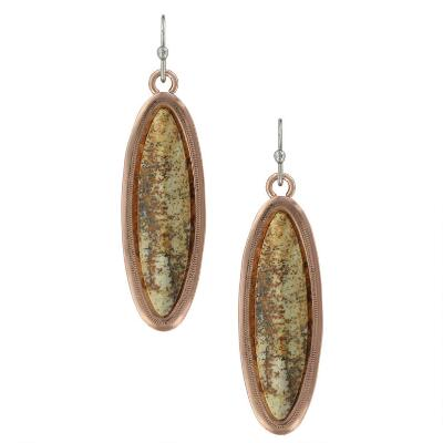 Montana Silversmiths Canyon Colors Earth Jasper Earrings