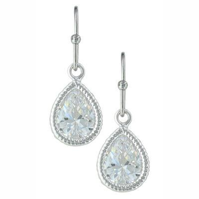 Montana Silversmiths Teardrop Dangle Earrings