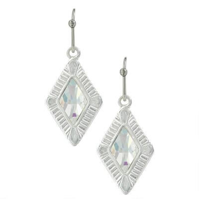 Montana Silversmiths White Star Drop Earrings