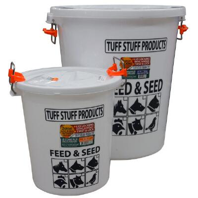Tuff Stuff Feed and Seed Storage with Locking Lid - 7 Gallon
