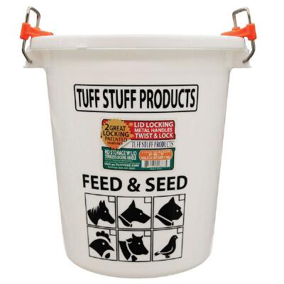 Tuff Stuff Feed and Seed Storage with Locking Lid - 45 Gallon