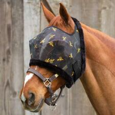 Mackey Equine BEE MINE Fly Mask No Ears - TB