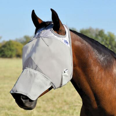 Cashel Crusader Long Nose Fly Mask No Ears