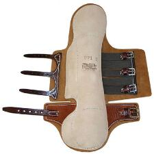 Feather-Weight Half Hock Leather Trotting Boots Xtra Coverage - TB