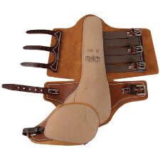 Feather-Weight No Hock Leather Trotting Boots  - TB