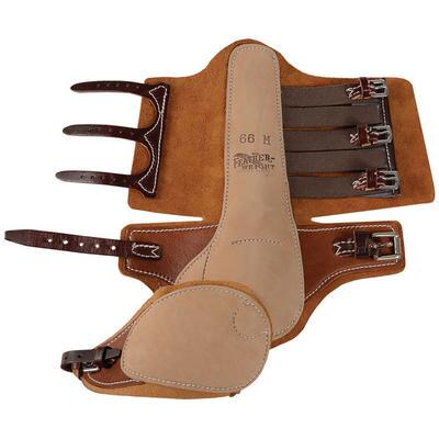 Feather-Weight Leather Trotting Boots with Swinging Speedycut