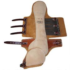 Feather-Weight LITE-N-TUFF Half Hock Trotting Boots with Swinging Speedycut - TB