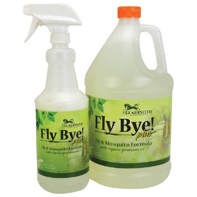 Guaranteed Horse Products Fly Bye Plus 32 oz With Trigger Sprayer