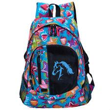 Stars Hearts and Horses Backpack - TB