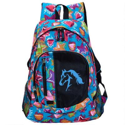 Stars Hearts and Horses Backpack