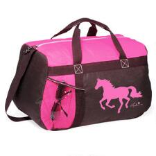 Lila Galloping Horse Carry All Duffle - TB