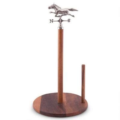 Vagabond House Horse Weather Vane Towel Holder