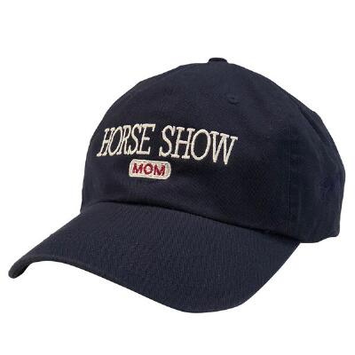 Stirrups Horse Show Mom Ladies Baseball Cap