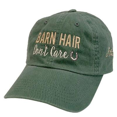 Stirrups Barn Hair Ladies Baseball Cap