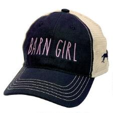 Stirrups Barn Girl Trucker Baseball Cap - TB
