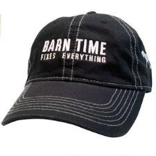 Stirrups Barn Time Fixes Everything Denim Unisex Baseball Cap - TB