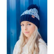 CC Beanie Confetti Cable Knit Ladies Beanie with Pom - TB