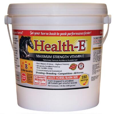 Health E Maximum Strength Vitamin E 180 Day