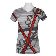 Noble Haus Bits and Reins Ladies Short Sleeve Shirt - TB