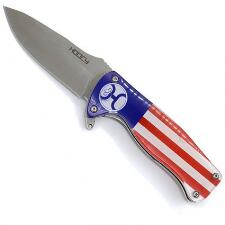 Hooey American Flag Flipper Pocket Knife - TB