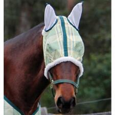 Protective Fly Mask Plaid
