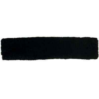 ECP Black Sheepskin Girth Cover