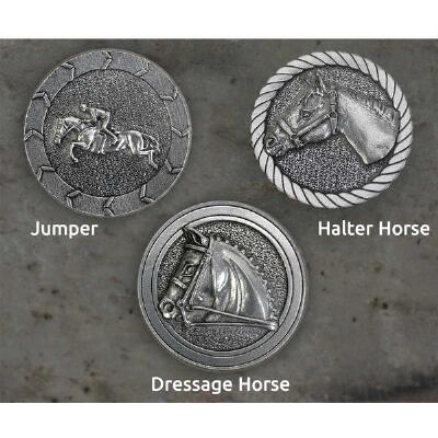 Loreice Designs Pewter Adhesive Button