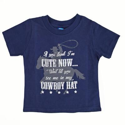Cowboys Unlimited Cute Now Boys Tee