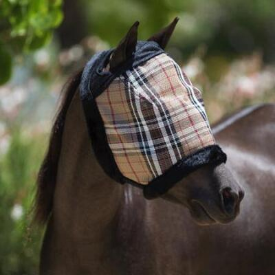 Kensington Miniature Horse Fly Mask Dual Ear Opening