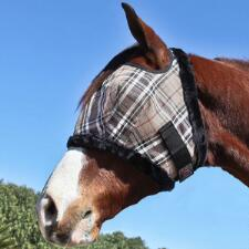 Kensington Fly Mask with Fleece Trim 900-1200lb - TB