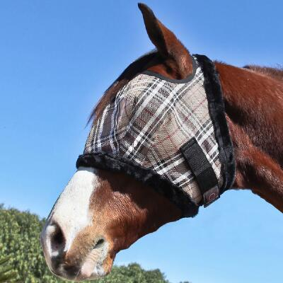 Kensington Fly Mask with Fleece Trim 900-1200lb